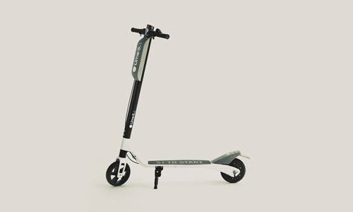 Electric scooter startup Lime- 'lifestyle brand store' in Santa Monica