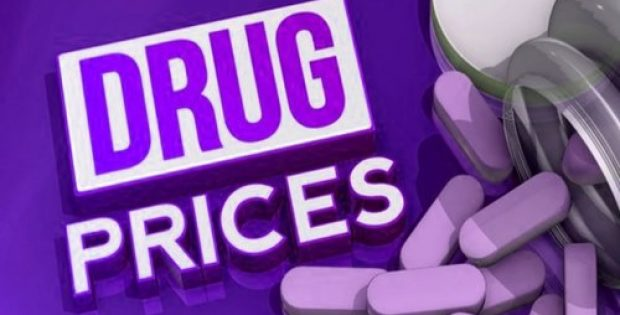 drug companies include prices tv commercials