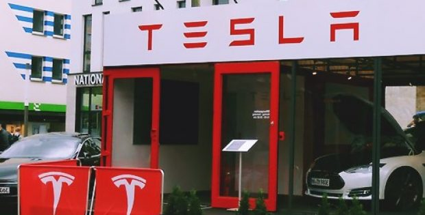 tesla acquires land build first manufacturing site